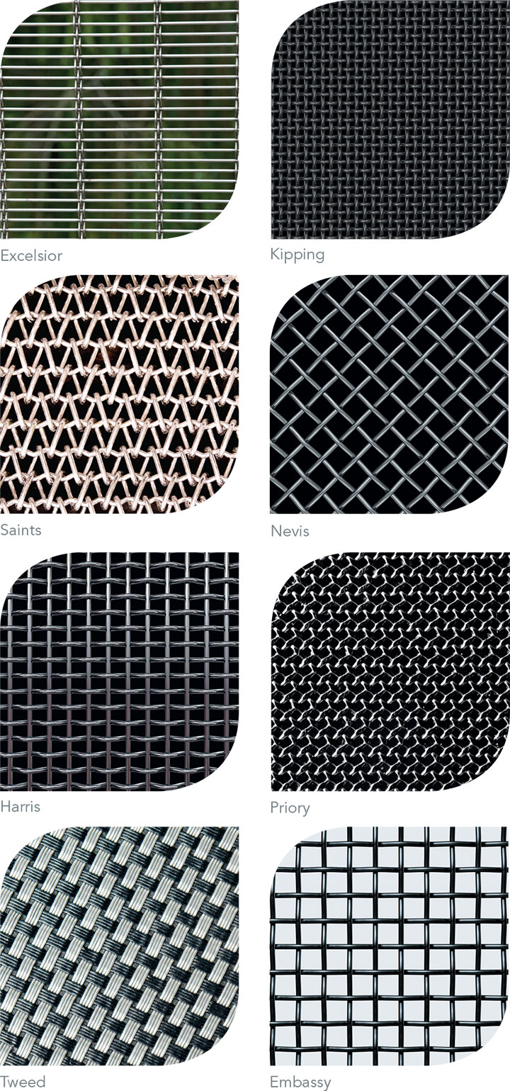 Metal Mesh Screen : Metal mesh for architecture screen systems