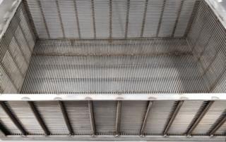 Flat panel mesh